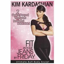 Kim Kardashian: Fit in Your Jeans by Friday - Ultimate Butt Body Sculpt (DVD, 2…