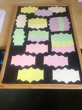 Craft Room Clear Out -  20 Frame Backs / Toppers -  Plaques - Sizzix