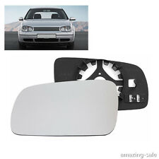 Left Driver Side Wing Door Heated Mirror Glass For VW Jetta Golf MK4 1999-2004
