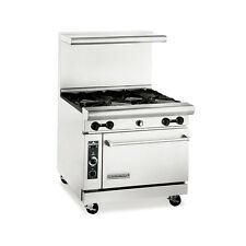 American Range Ar36-4B, Heavy Duty Gas 36 inch, 4 burners Restaurant Range