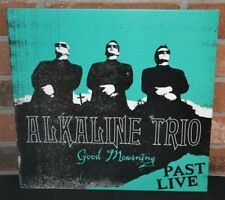 ALKALINE TRIO - Good Mourning : Past Live LP, LTD TURQUOISE COLORED VINYL NEW!
