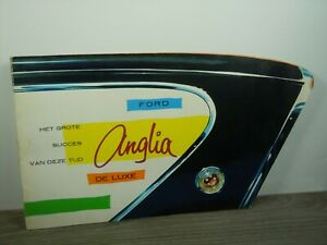 Brochure Prospekt Folder - Ford Anglia De Luxe *47119