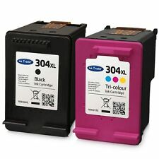 Remanufactured HP 304XL Black & Colour Ink Cartridges For HP Deskjet 3730