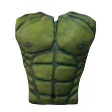 Cubierta de pecho verde, Hulk, Fiesta De Disfraces Halloween Latex para adultos Un tamaño
