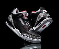 Nike Air Jordan Retro 3 BLACK CEMENT 2018  Size 10 854262-001 free throw line