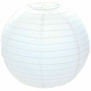 WHITE PAPER LAMPSHADE CEILING LIGHT PENDANT LAMP SHADE BALL LANTERN DECOR