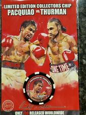 Pacquiao vs Thurman Limited Edition Boxing Chip by Richard T. Slone