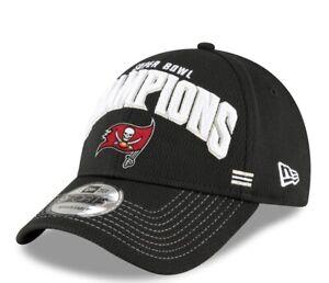 Tampa Bay Buccaneers New Era 9FORTY NFL Super Bowl Champions Locker Room Hat Cap