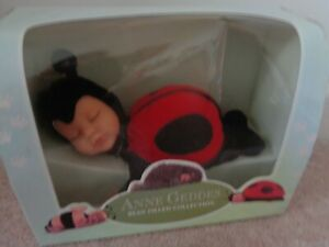 NEW IN BOX ANNE GEDDIS - BABY LADYBIRD FROM THE BEAN FILLED COLLECTION
