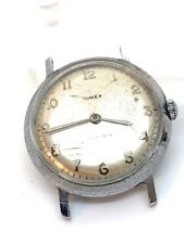 Vintage 1964 Timex Marlin 2 Hands Waterproof Manual Wind Wrist Watch