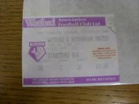 01/02/1997 Ticket: Watford v Rotherham United [Directors Box]. Thanks for viewin
