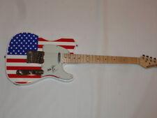 HARRY WAYNE CASEY SIGNED USA ELECTRIC GUITAR KC AND THE SUNSHINE BAND JSA COA
