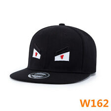 ac4350af645 Mens Baseball Flat Caps Hip Hop Hats Eye Embroidery Visor Adjustable  Snapback