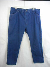 WRANGLER Denim Jeans (44 x 30) Straight Leg 4 pockets Indigo blue Cotton/Poly
