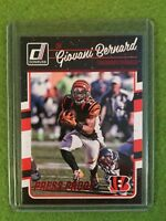 GIOVANI BERNARD FOIL PRESS PROOF BENGALS NFL Football 2016 Donruss #61 Red Foil!