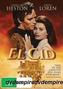 El Cid DVD Sophia Loren New and Sealed Australian Release