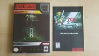 LEGEND OF Z PARALLEL WORLDS SNES - UGC Box and Manual only