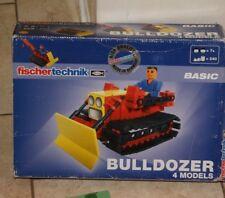 Fischertechnik BULLDOZER 41 858 - 4 models - New