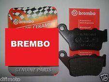 PLAQUETTE DE FREIN BREMBO ARRIÈRE CCM 644 DS 02 > 07BB0235