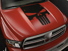 Center Hood Punisher decal for Dodge RAM 1500 Graphics