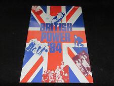 British Power 84 Japan Promo Booklet OMD Oldfield Sylvian Culture Club XTC Stiff