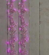 280 Light Christmas 4.45m PINK LED Cluster Indoor Outdoor Lights Decoration