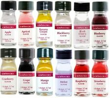 LorAnn Super Strength Fruit Flavors (No Oils) 1 Dram Variety Bundle #1 -12 pack