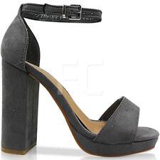 Calzado De GrisesCompra Mujer Sandalias Con En Ebay Online Plataforma gby6f7
