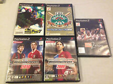 Playstation 2 Sports Games Lot Japan Import