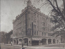 1900s CABINET PHOTO BOSTON MA SALVATION ARMY HOTEL BUILDING