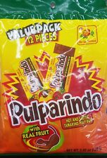 NEW PULPARINDO WITH REAL FRUIT HOT&SALTED TAMARIND PULP BAR MEXICAN CANDY