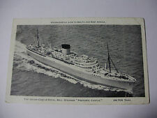E151 - UNION CASTLE Royal Mail Steamer PRETORIA CASTLE - POSTCARD