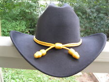 Western Hat Band - Cavalry - Yellow Colored Cord Only - No Hat