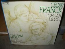 STEED / ABBEY / FRANCK organ music ( classical ) 3lp box l'oiseau lyre