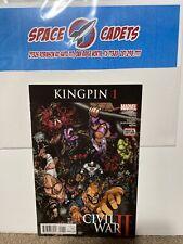 Kingpin #2 Civil War II  Rosenberg Marvel Comics