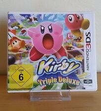 Nintendo 3DS Spiel - Kirby: Triple Deluxe (DE/EN) (mit OVP)  A1074