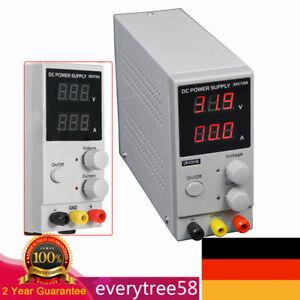Regelbares DC Labornetzgerät 0-30V 0-10A Labornetzteil Netzgerät regelbar