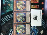 Yu-Gi-OH! LOT DE 3X Poussin Kaléido Clair De Lune BLHR-FR068 1st Ultra Rare