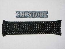 GUAINA a rete elastica NERA maglia espandibile Ø da 3 a 7 mm copri cavo cavi