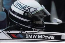 Ricardo Patrese-signé Col 7X5 Photo-Flèches-BRABHAM-Williams - 256 races - 6 W