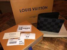Louis Vuitton Slender Wallet (Damier Graphite Canvas)