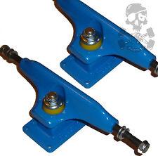 "RANGER Skateboard Trucks - Original 80s Old School - 9"" Wide - Blue"