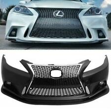 For 2006-2013 Lexus IS250/350/C to F-Sport Front Bumper Conversion 2IS to 3IS