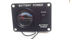 RV/Camper KIB Battery Gauge/Check/Test Power Panel