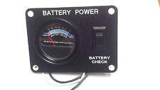 RV/Camper KIB Battery Gauge/Check/Test Power Panel