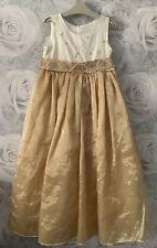 Girls Age 6 (5-6 Years ) Beautiful Silk Bodice Dress - Bridesmaid Party