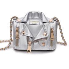 Women Ladies Fashion Design Handbag Jacket Style Leather Jacket Shoulder Bag