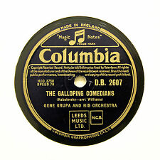 """GENE KRUPA ORCHESTRA """"The Galloping Comedians"""" (E+) COLUMBIA DB-2607 [78 RPM]"""