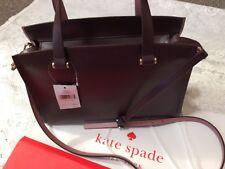 Kate Spade New York Mahogany Hot Pink Caley 2 Way Shoulder Cross Handbag - NWT