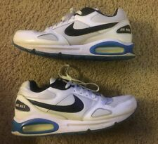 Nike Air Max Classic Mens Size 11 White Blue Lagoon Black Shoes 409762 104